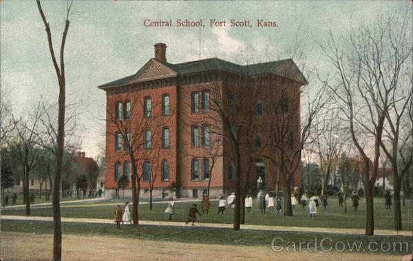 Central School Fort Scott Kansas