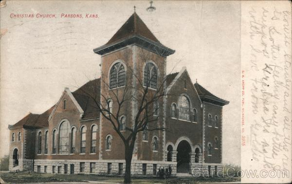 Christian Church Parsons Kansas