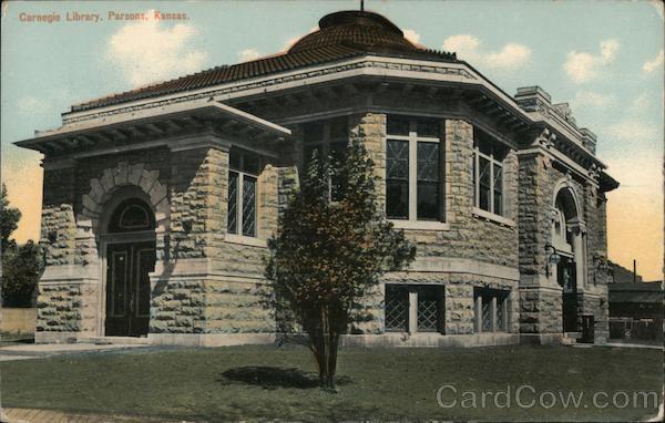 Carnegie Library Parsons Kansas