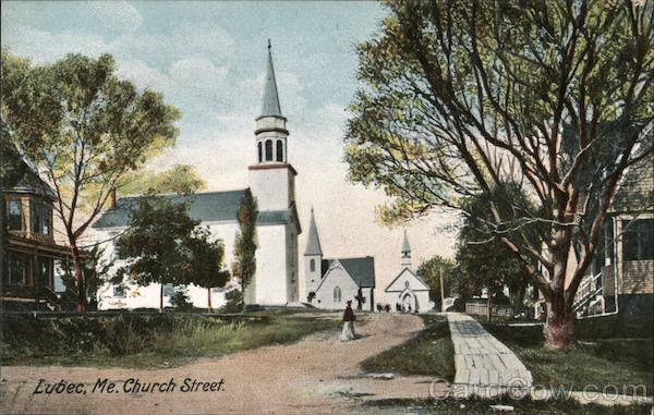 Church Street Lubec Maine