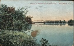 Market St. Bridge over Dundee Lake Postcard