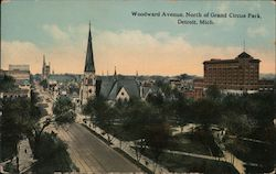 Woodward Avenue, North of Grand Circus Park
