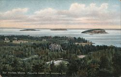 Porcupine Islands from Strawberry Hill