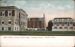 State Library, Normal School Bldg., Training School
