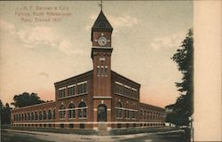 H.F. Barrows & Company Jewelry Factory Postcard