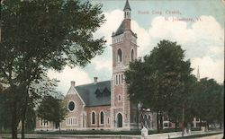 North Cong. Church Postcard
