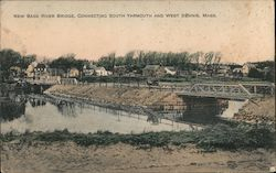 New Bass River Bridge, Connecting South Yarmouth and West Dennis Postcard