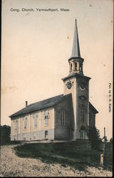 Cong. Church Postcard