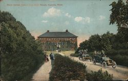 State Normal School from Main Street Postcard
