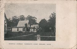 Shortle Avenue, Yarmouth Campground Postcard