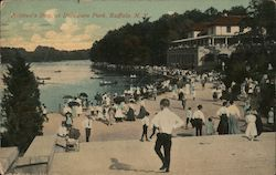 Children's Day at Delaware Park Postcard