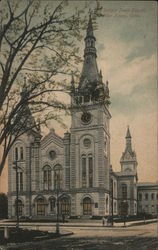 Dwight Place Church Postcard