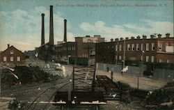 Plant of the West Virginia Pulp and Paper Co.