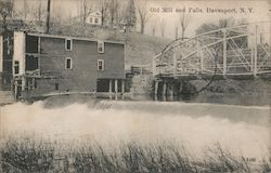 Old Mill and Falls