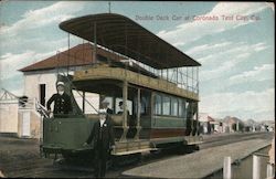 Double Deck Car at Coronado Tent City