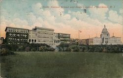 State Normal School and State Capitol