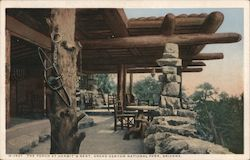 The Porch at Hermit's Rest, Grand Canyon National Park Postcard
