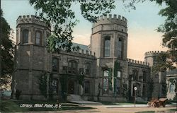 Library Postcard