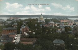 Birds Eye View of Annapolis, Md