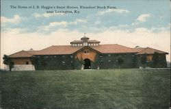 The Home of J.B. Haggin's Finest horses, Elemdorf Stock Farm