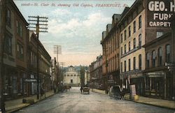 St. Clair St., Showing Old Capitol