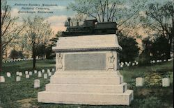 Andrews Raiders Monument National Cemetary Postcard