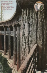 Collonates of the Forestry Building Alaska-Yukon Pacific Exposition 1909