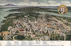 Bird's Eye View of the Alaska Yukon Pacific Exposition