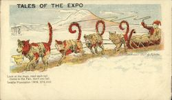 1909 Follow the Sled to the Alaska-Yukon-Pacific Expo