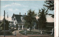 Pleasant View, Home of Rev. Mary Baker & Eddy Postcard