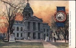The New Hampshire State Capitol Postcard