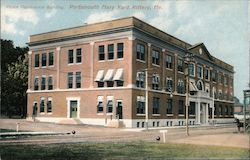 Peace Conference Building, Portsmouth Navy Yard Postcard