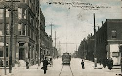 5th St. N From Delaware Postcard