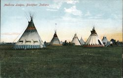 Medicine Lodges, Blackfoot Indians