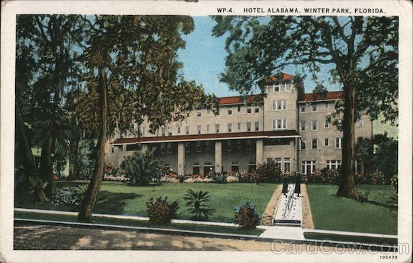 Hotel Alabama Winter Park Florida
