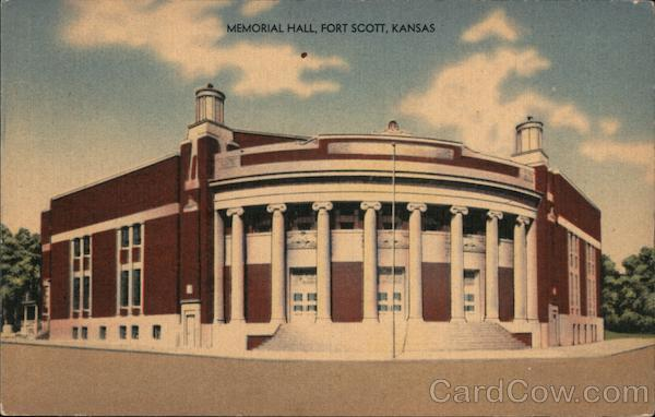 Memorial Hall Fort Scott Kansas