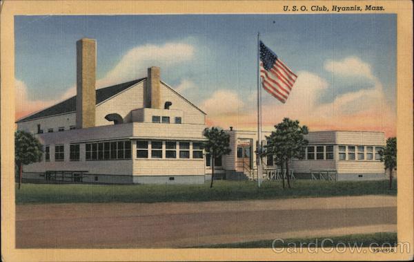 U.S.O. Club Hyannis Massachusetts