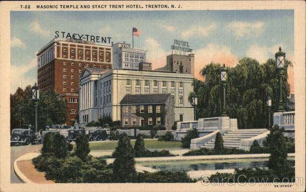 Masonic Temple and Stacy Trent Hotel Trenton New Jersey