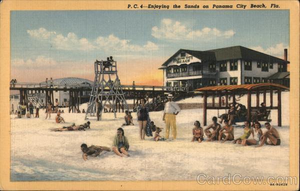 Enjoying the Sands on Panama City Beach Florida