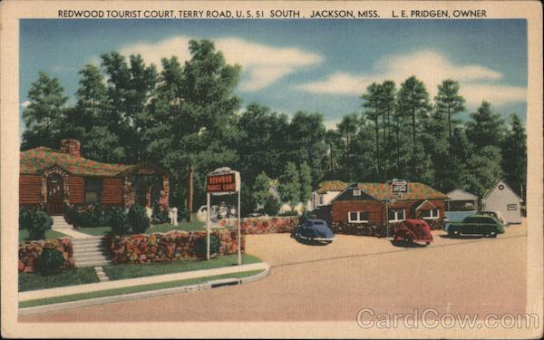 Redwood Tourist Court Jackson Mississippi