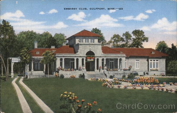 Embassy Club Gulfport Mississippi