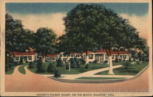 Moody's Tourist Court Gulfport Mississippi