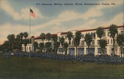 Kentucky Military Institute, Winter Headquarters Postcard