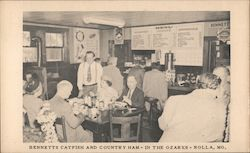 Bennetts Catfish and Country Ham - In The Ozarks Postcard