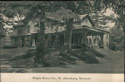 Maple Grove Inn Postcard