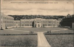 Nueropsychiatric Hospital, Veterans Administration Center Postcard