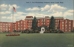 Leila Y. Post Montgomery Hospital Postcard