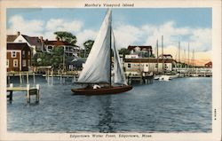 Martha's Vineyard Island Postcard