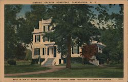 Historic Granger Homestead Postcard