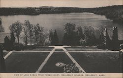 View of Lake Waban from Tower Court, Wellesley College